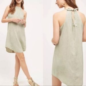 Anthropologie Cloth & Stone Green High Tide Dress